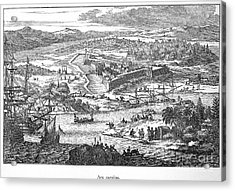 Fort Caroline, 1673 Acrylic Print by Granger