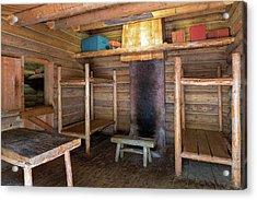 Fort Clatsop Living Quarters Acrylic Print