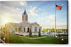 Fort Collins Temple Acrylic Print