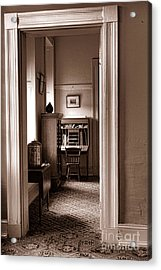 Fort Delaware Interior Acrylic Print by Olivier Le Queinec