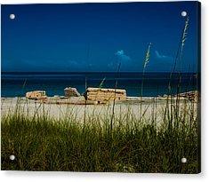 Fort Desoto Beach Acrylic Print