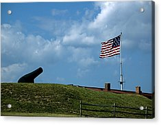 Fort Mchenry Baltimore Maryland Acrylic Print by Wayne Higgs