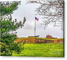 Acrylic Print featuring the photograph Fort Mchenry National Monument  by Nick Zelinsky