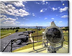 Fort Moultrie Signal Light Acrylic Print