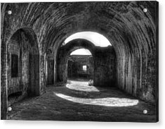 Fort Pickens Florida Acrylic Print by Jane Linders