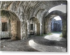 Fort Pickens Pensacola Acrylic Print by Jane Linders