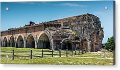 Fort Pickens Ruins Acrylic Print by Paul Freidlund