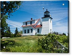 Fort Point Lighthouse  Stockton Springs Me 2  Acrylic Print