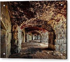 Fort Popham Acrylic Print
