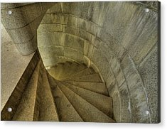 Fort Popham Stairwell Acrylic Print