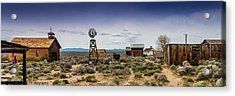 Fort Rock Museum Acrylic Print