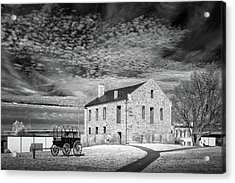 Acrylic Print featuring the photograph Fort Smith Historic Site by James Barber