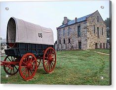 Fort Smith National Historic Site - Arkansas Acrylic Print by Gregory Ballos