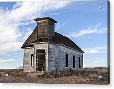 Fort Sumner - Abandoned Church Acrylic Print