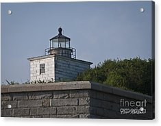 Fort Taber Lighthouse Acrylic Print by David Gordon