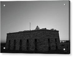 Fort Taber Nb II Bw Acrylic Print