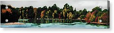 Fort Toulouse Coosa River Acrylic Print by Beth Parrish