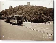 Fort Tryon Trolley Acrylic Print