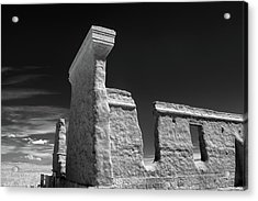 Fort Union Ruins Acrylic Print