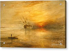 Fort Vimieux Acrylic Print by Joseph Mallord William Turner