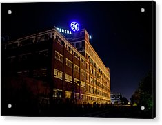 Fort Wayne In Ge Building - Jpmmedia.com Acrylic Print