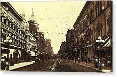 Fort Wayne Indiana 1913 Acrylic Print