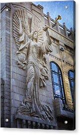 Fort Worth Impressions Bass Hall Angel Acrylic Print