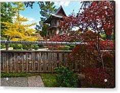 Acrylic Print featuring the photograph Fort Worth Japanese Gardens 2771a by Ricardo J Ruiz de Porras