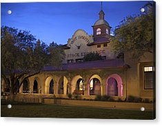 Fort Worth Livestock Exchange Acrylic Print