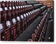 Fort Worth Stockyards Coliseum Seating Acrylic Print
