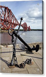 Acrylic Print featuring the photograph Forth Bridge by Jeremy Lavender Photography
