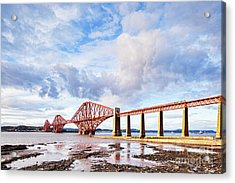 Acrylic Print featuring the photograph Forth Rail Bridge by Colin and Linda McKie