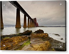 Forth Rail Bridge Acrylic Print by Nichola Denny