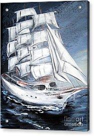 Fortunate. Sailing Ship Acrylic Print