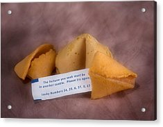 Fortune Cookie Fail Acrylic Print