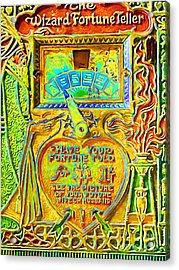 Fortune Teller Machine 20161108v2 Acrylic Print