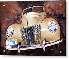 Forty Ford Acrylic Print by Mike Hill