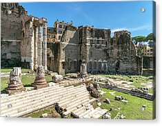Acrylic Print featuring the photograph Forum Of Augustus by Scott Carruthers