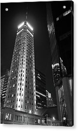 Foshay Tower, Minneapolis Acrylic Print by Jim Hughes