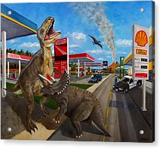 Fossil Fuel Acrylic Print