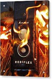 Foto Fire Acrylic Print