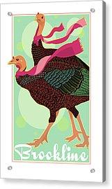 Foulards Acrylic Print