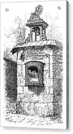 Foundling Tower, 19th Century Acrylic Print