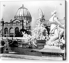 Fountain Coutan And Palace Of Fine Acrylic Print by Science Source