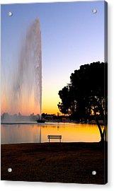 Fountain Hills Acrylic Print by Paul Kloschinsky
