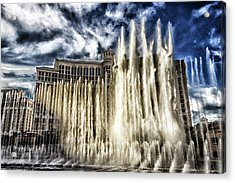 Acrylic Print featuring the photograph Fountain Of Love by Michael Rogers