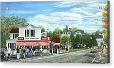 Fountain Of Youth Acrylic Print by Doug Kreuger