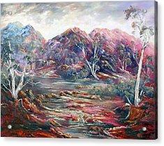 Fountain Springs Outback Australia Acrylic Print