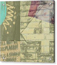 Four Acrylic Print by Gary Everson