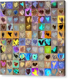 Four Hundred Series  Acrylic Print by Boy Sees Hearts